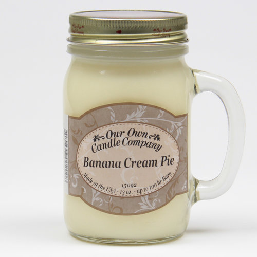 Banana Cream Pie Large Mason Jar