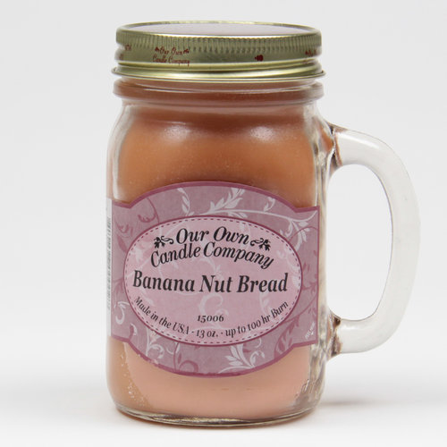 Banana Nut Bread Large Mason Jar