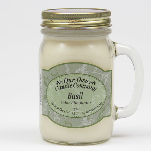 Basil Odor Eliminator Large Mason Jar