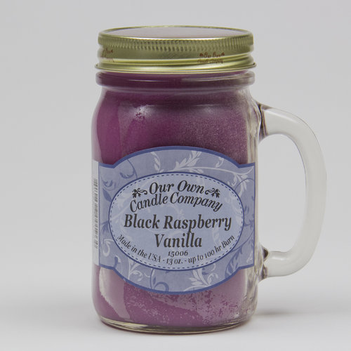 Black Raspberry Vanilla Large Mason Jar