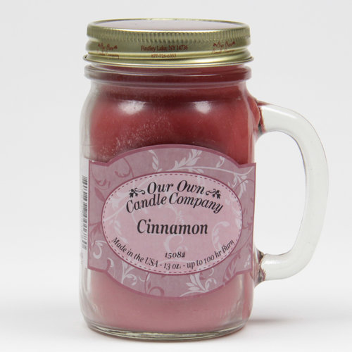 Cinnamon Large Mason Jar