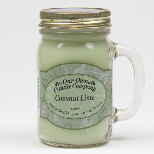 Coconut Lime Large Mason Jar