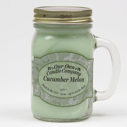Cucumber Melon  Large Mason Jar