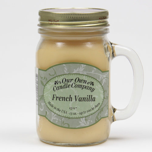 French Vanilla  Large Mason Jar