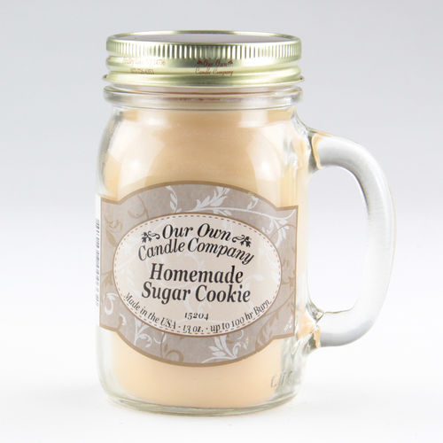 Homemade Sugar Cookie Large Mason Jar