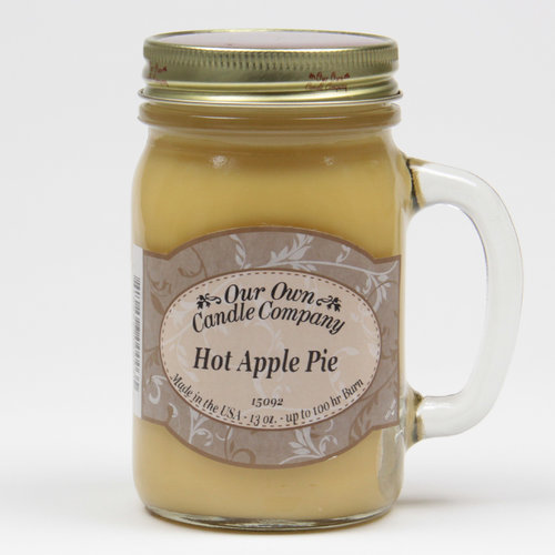Hot Apple Pie Large Mason Jar
