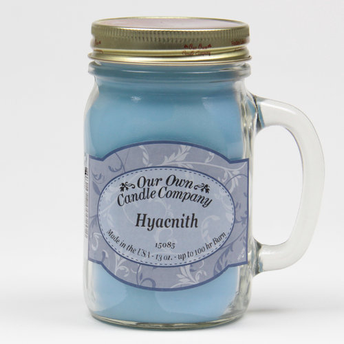 Hyacinth  Large Mason Jar