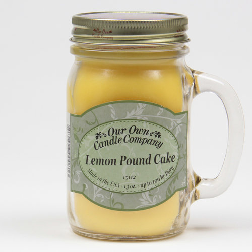Lemon Pound Cake Large Mason Jar