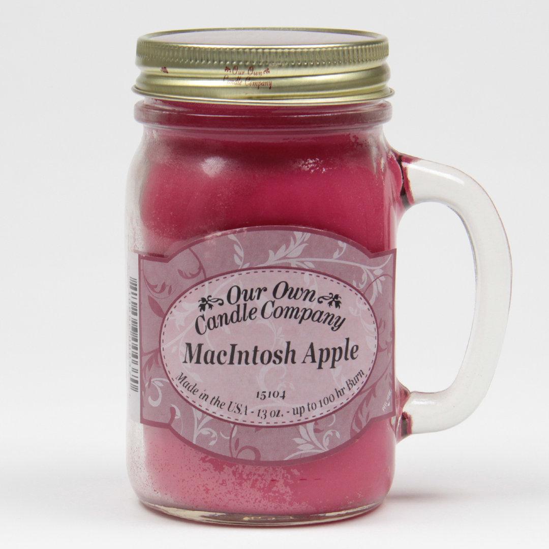 Macintosh Apple Large Mason Jar Our Own Candle Company Deutschland
