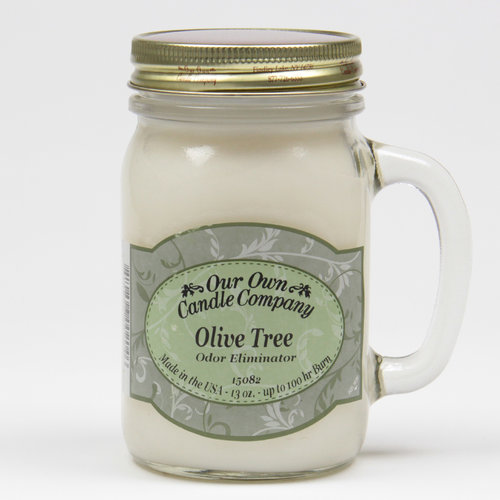 Olive Tree Odor Eliminator Large Mason Jar