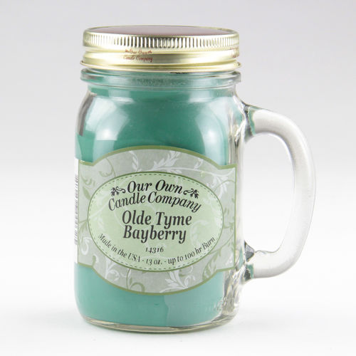 Olde Tyme Bayberry Large Mason Jar