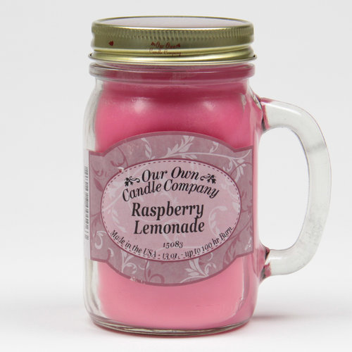 Raspberry Lemonade Large Mason Jar